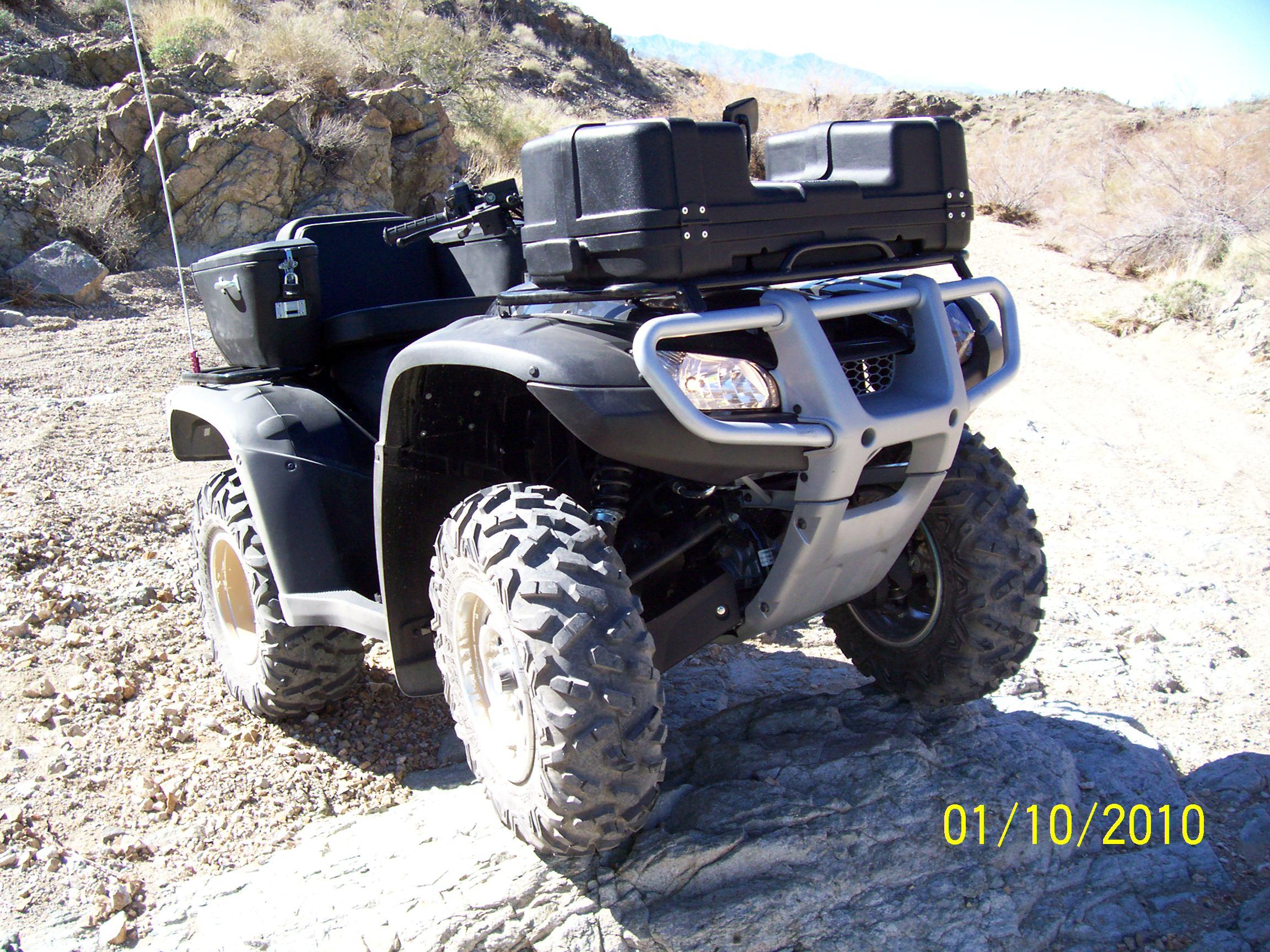 Maxxis Bighorn Tire On Factory Rims Honda Foreman
