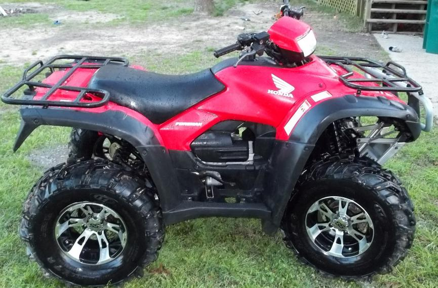 2011 honda foreman 500 for sale