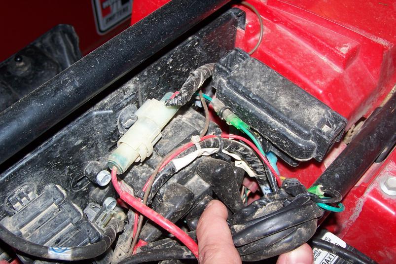 Winch Contactor Location? - Honda Foreman Forums : Rubicon, Rincon, Rancher and Recon Forum