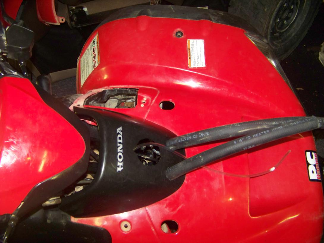 My New Toy Honda Foreman Forums Rubicon Rincon