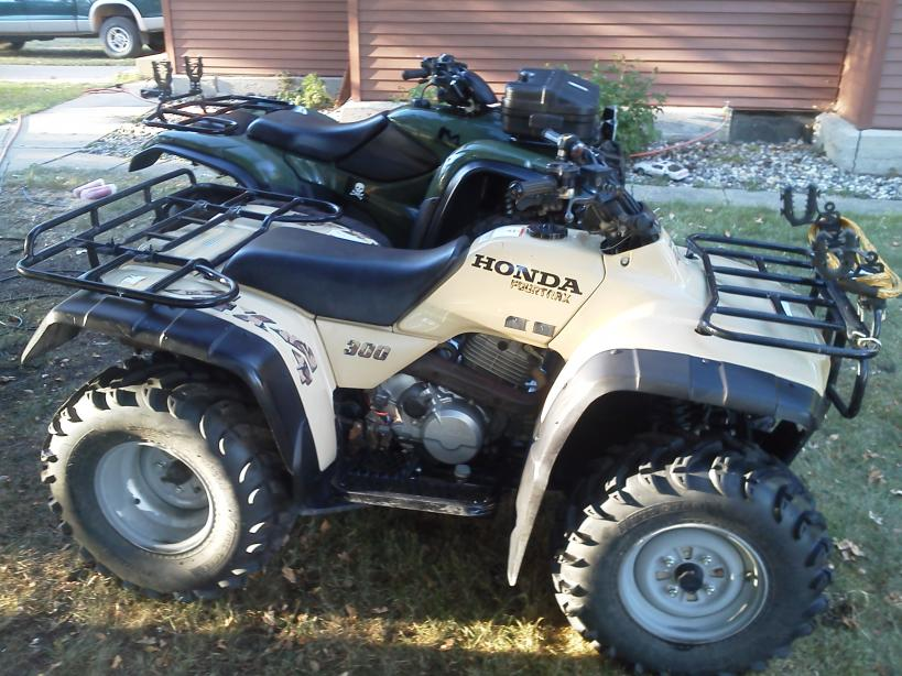 Honda Recon For Sale >> TRX300FW engine noise? - Honda Foreman Forums : Rubicon ...