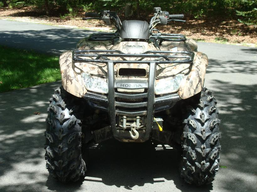 "27"" Swamplite's on the 420 - Honda Foreman Forums : Rubicon, Rincon, Rancher and Recon Forum"