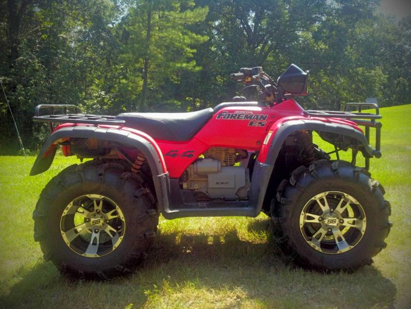 4 inch lift for honda foreman   High Lifter Forums