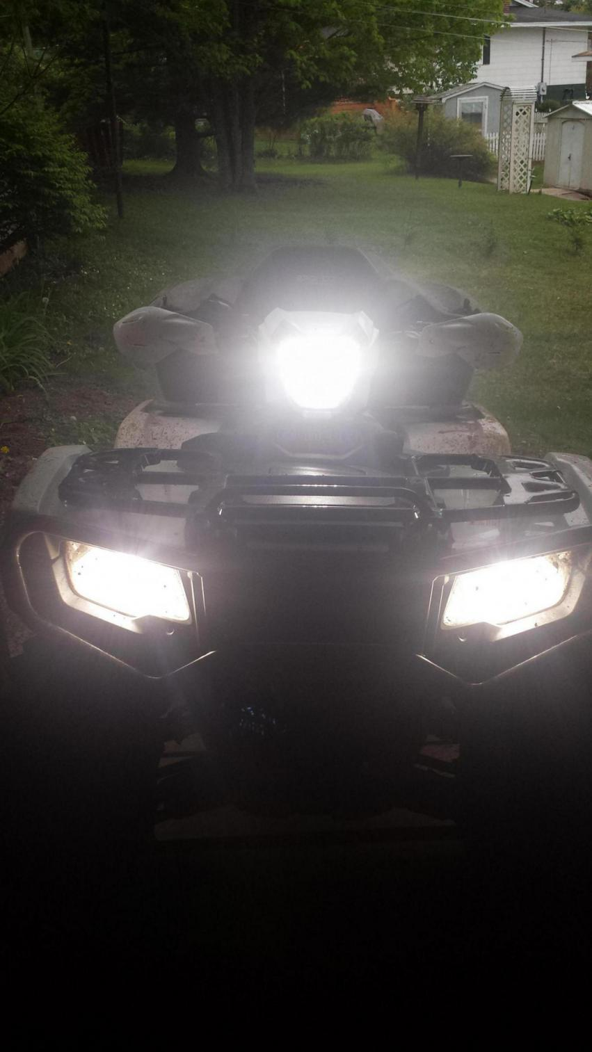 2015 Rubicon Headlights Page 2 Honda Foreman Forums