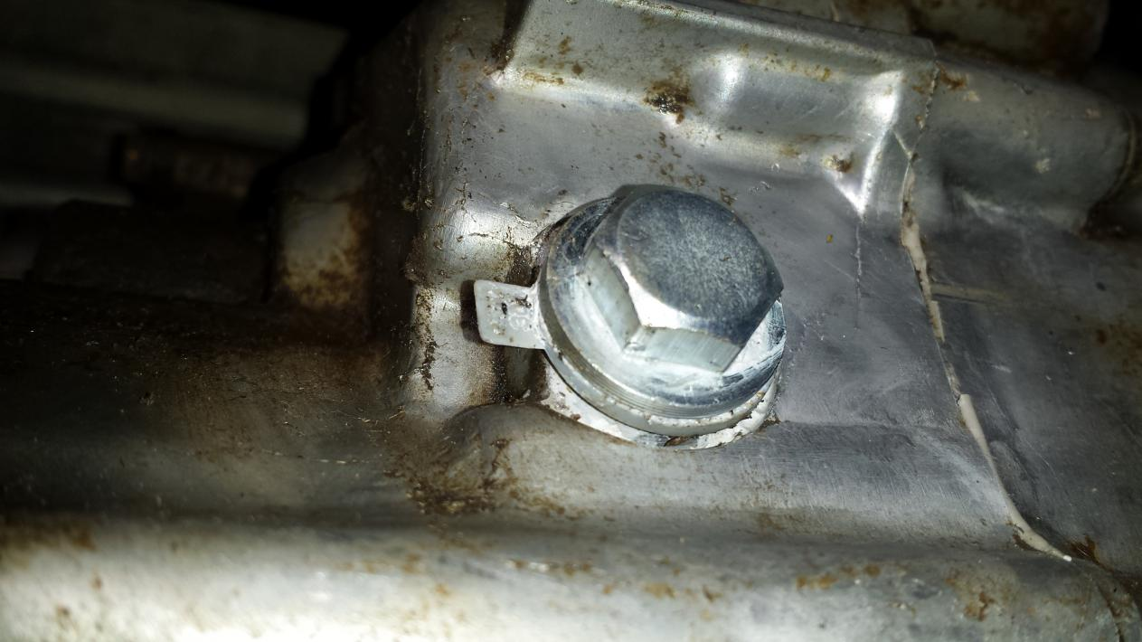 06 Foreman 500 Oil Drain Plug Honda Foreman Forums