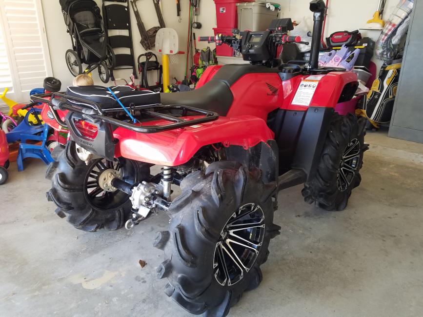 model rubicon quading best by atv side foreman deluxe shown honda dct canada