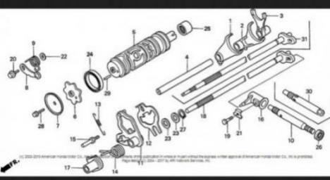 2006 Honda Recon 250 Es Shift Problems