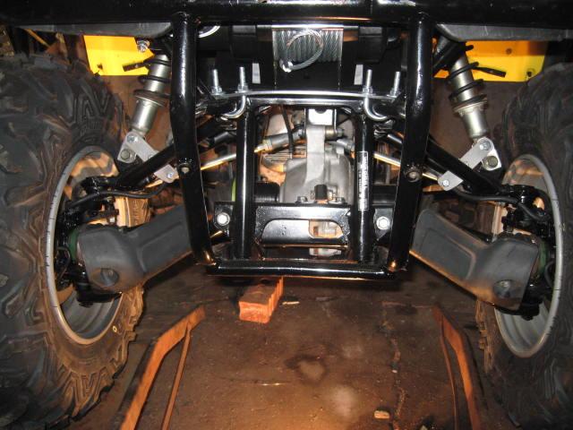 Viper Winch Install Pics Honda Foreman Forums Rubicon