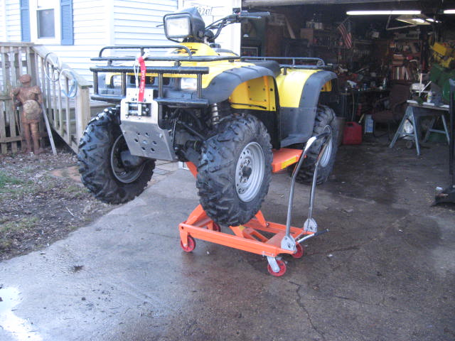 Best Service Stand Or Ramps Or Jack Honda Foreman