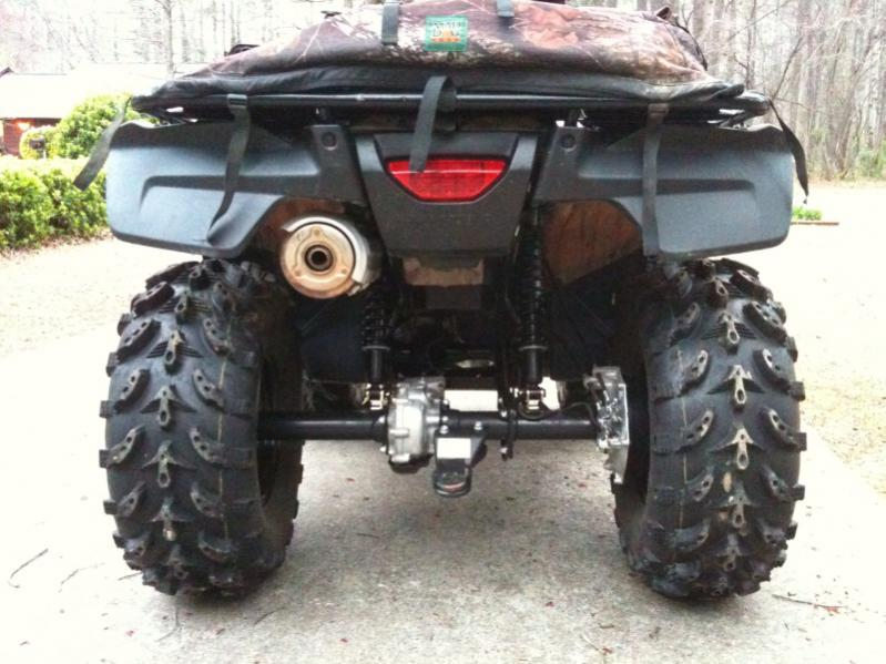 Picture Of The Lifted Camo Foreman Honda Foreman Forums