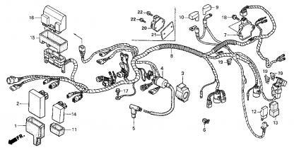 1998 honda rancher wiring diagram 1998 foreman 450es no spark honda foreman forums  1998 foreman 450es no spark honda