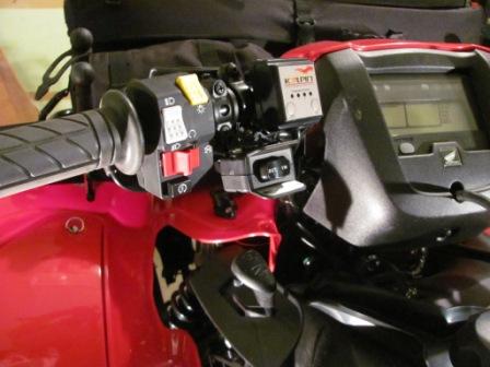 Installed Warn Winch On 2012 Trx500fpm Honda Foreman