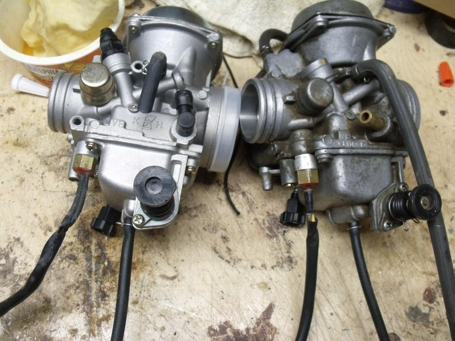 2001 Foreman 450es Carb Running Very Rich
