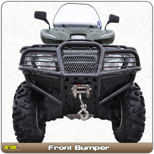 Bison Front Rear Bumpers Honda Foreman Forums Rubicon