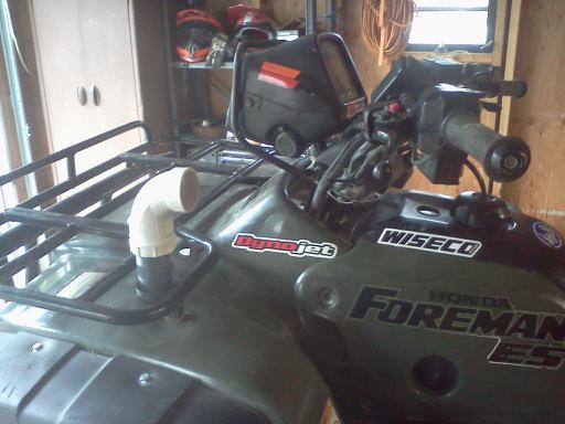 Snorkel Attempt Fail Honda Foreman Forums Rubicon