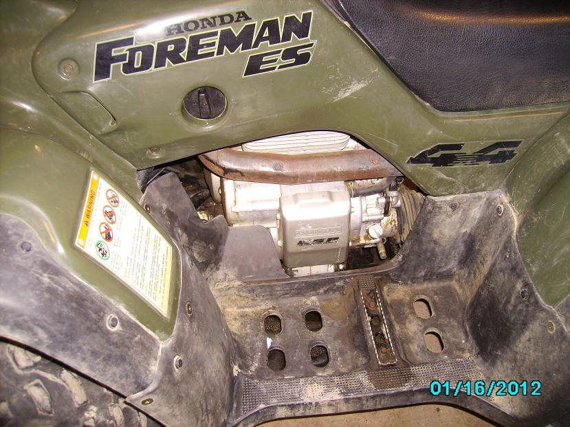 Pictures Of My 98 Foreman 450es Honda Forums Rubicon