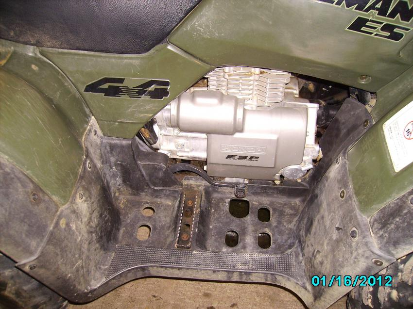 Pictures Of My 98 Foreman 450es Honda Forums Rubicon: Honda Rubicon Oil Filter Location At Bitobe.net