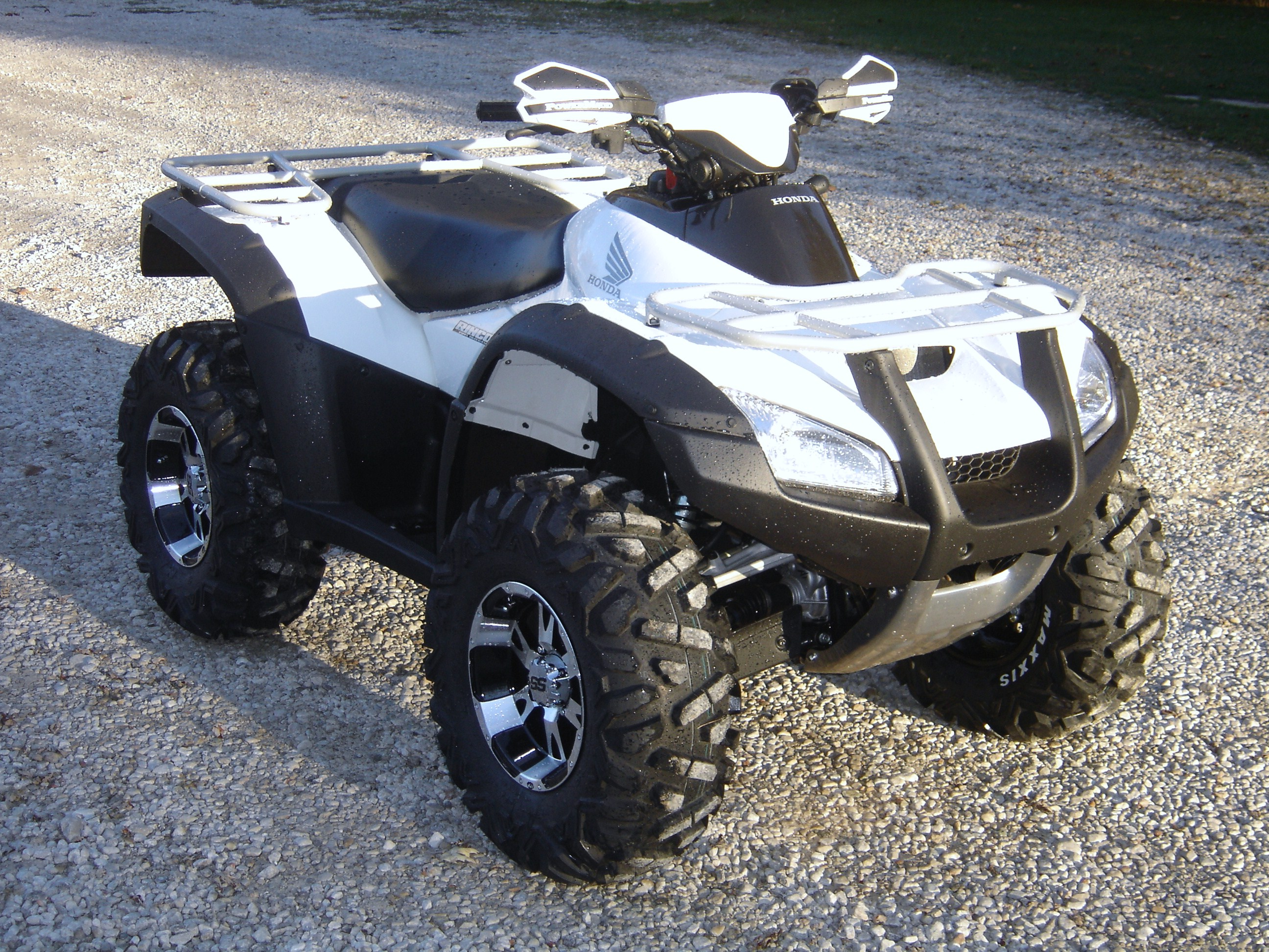 road farm this motorcycle quad is registered sale honda rincon for item