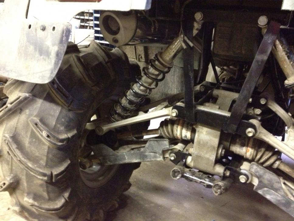 450 IRS Conversion - Page 4 - Honda Foreman Forums : Rubicon