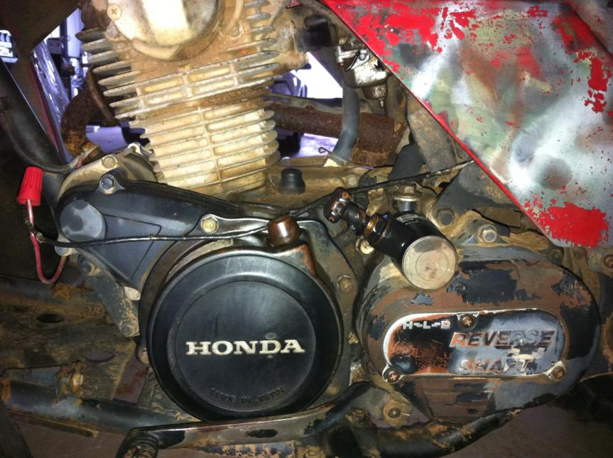 can someone tell me what size atv by vin number? - Honda Foreman
