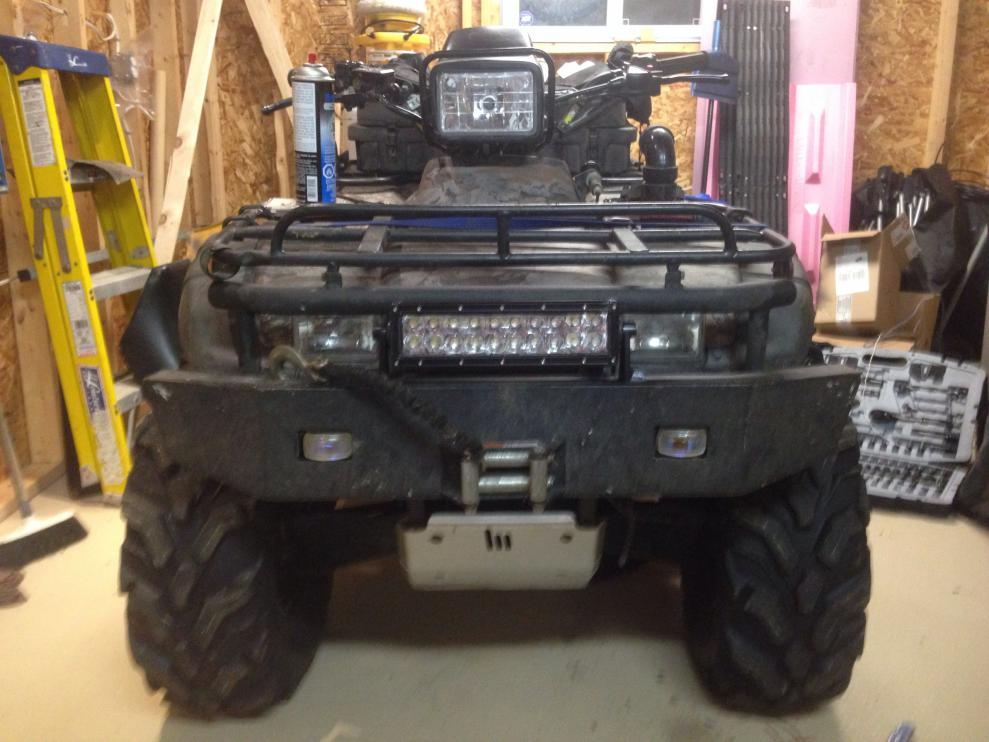 Aurora 10 Quot Led Light Bar Honda Foreman Forums Rubicon