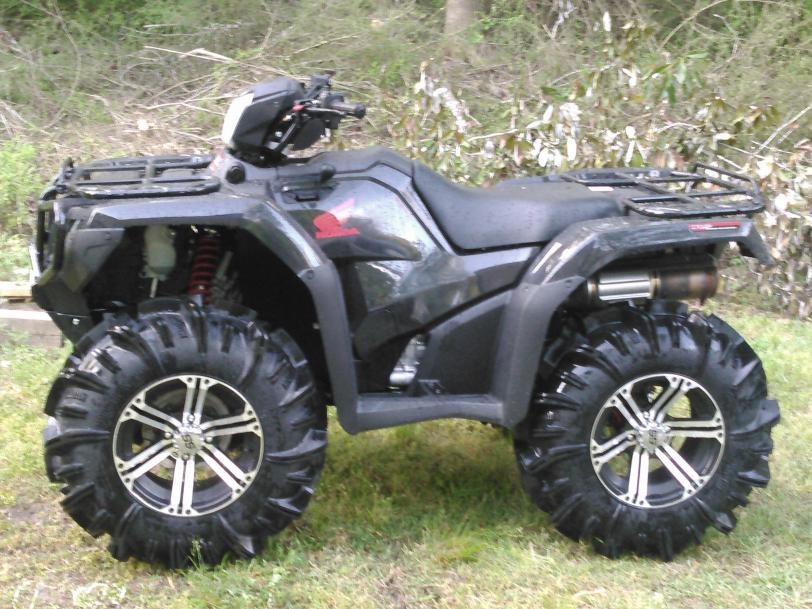 Larger Tires For 2015 Rubicon Dct Honda Foreman Forums