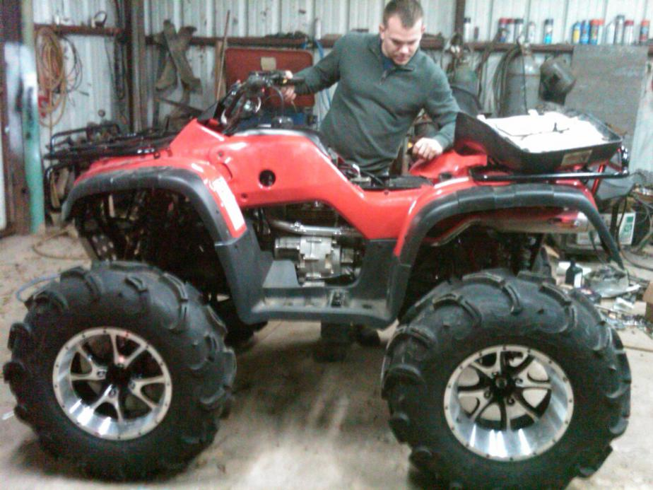 New Foreman 400 Irs Honda Foreman Forums Rubicon Rincon Rancher And Recon Forum