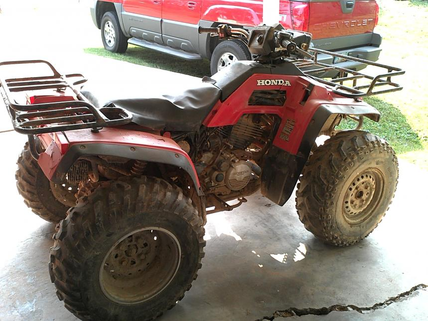 Got a 86 honda 350 4x4 project - Honda Foreman Forums : Rubicon, Rincon, Rancher and Recon Forum