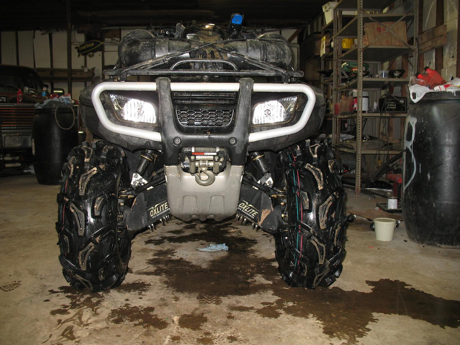 "28"" Maxxis Zilla Review - Honda Foreman Forums : Rubicon ..."