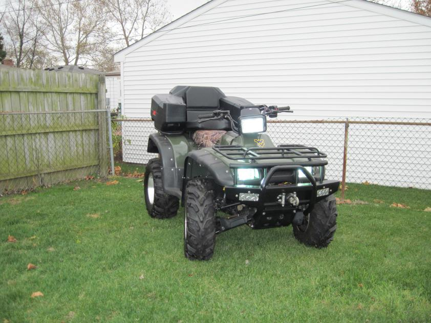like to see custom bumper photo's - Honda Foreman Forums : Rubicon, Rincon, Rancher and Recon Forum