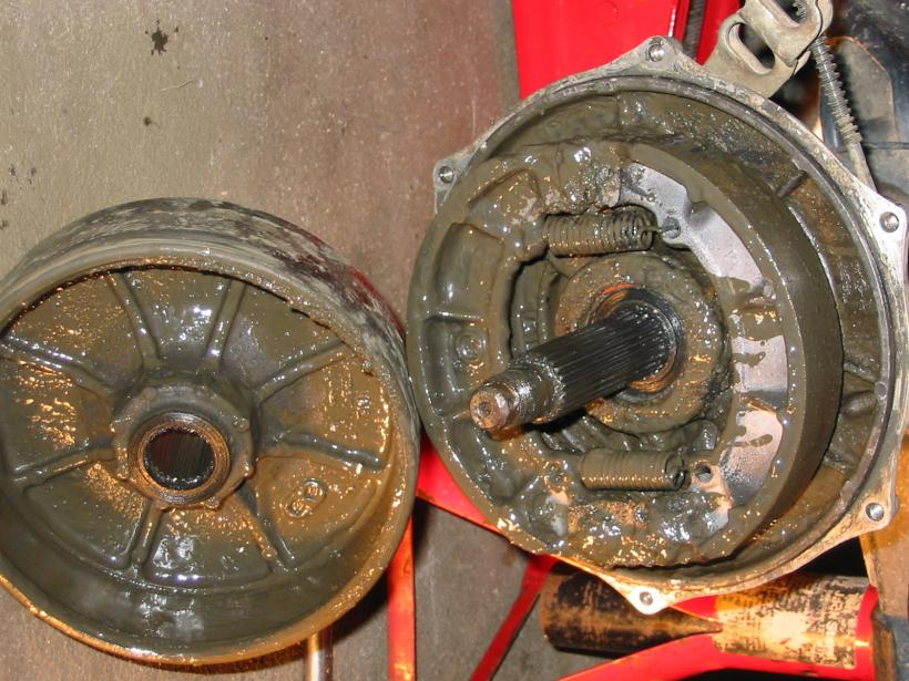 Mud in my rear brake drum. - Honda Foreman Forums : Rubicon, Rincon, Rancher and Recon Forum