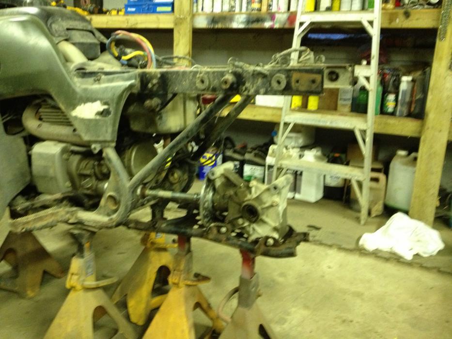 450 IRS Conversion - Honda Foreman Forums : Rubicon, Rincon