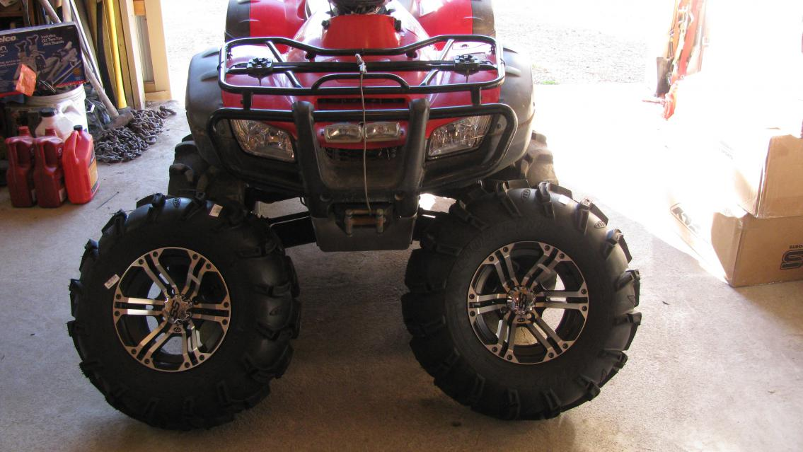 What Size Are My Tires >> New Tires and Wheels. - Honda Foreman Forums : Rubicon ...