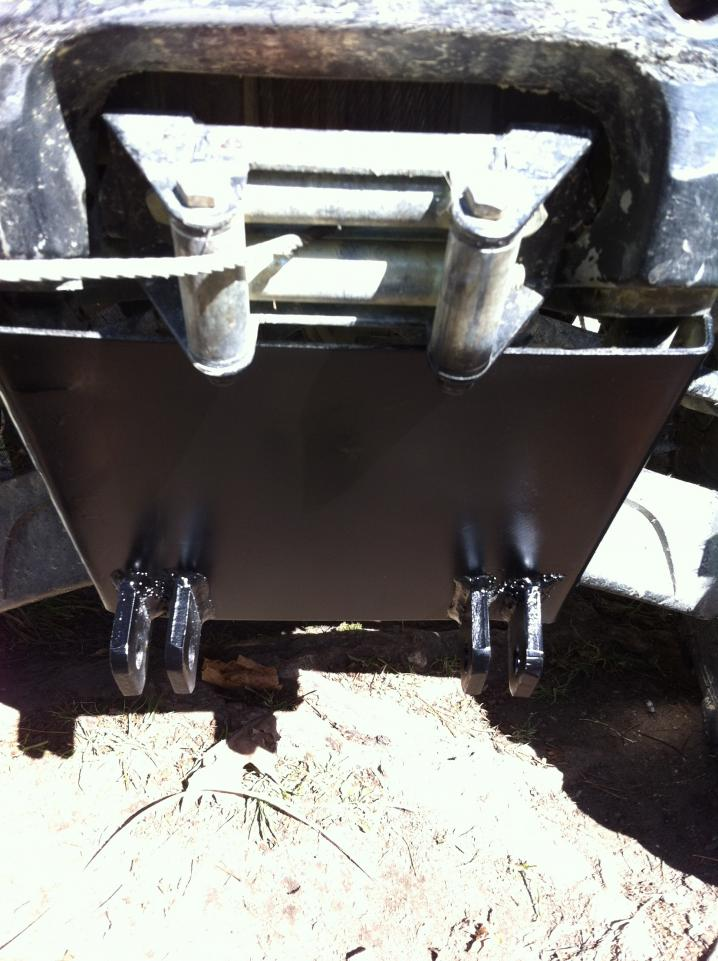 Honda 500 Atv >> my homemade snow plow and mount - Honda Foreman Forums ...