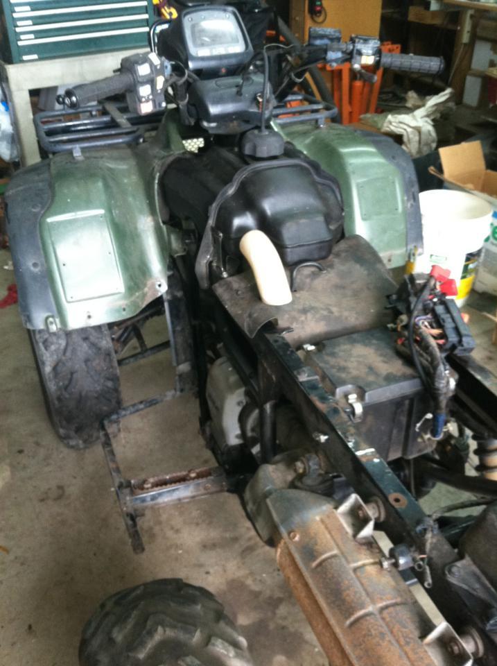 2002 honda TRX450FE rebuild - Page 2 - Honda Foreman Forums
