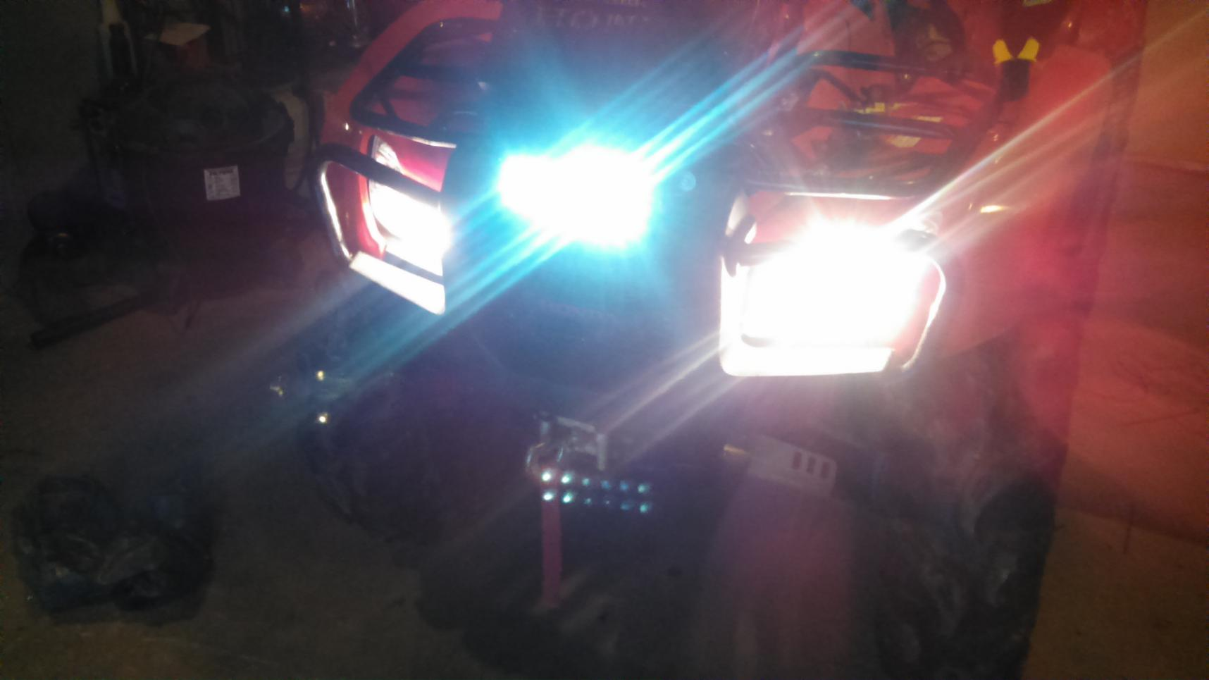led light bar help - Page 2 - Honda Foreman Forums : Rubicon, Rincon ...