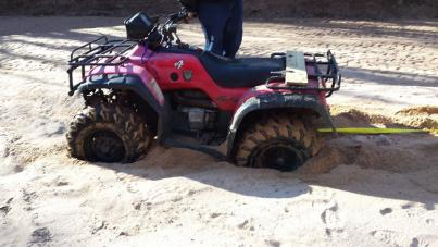 Honda Foreman For Sale >> reason I bought lift and tires. lol - Honda Foreman Forums : Rubicon, Rincon, Rancher and Recon ...