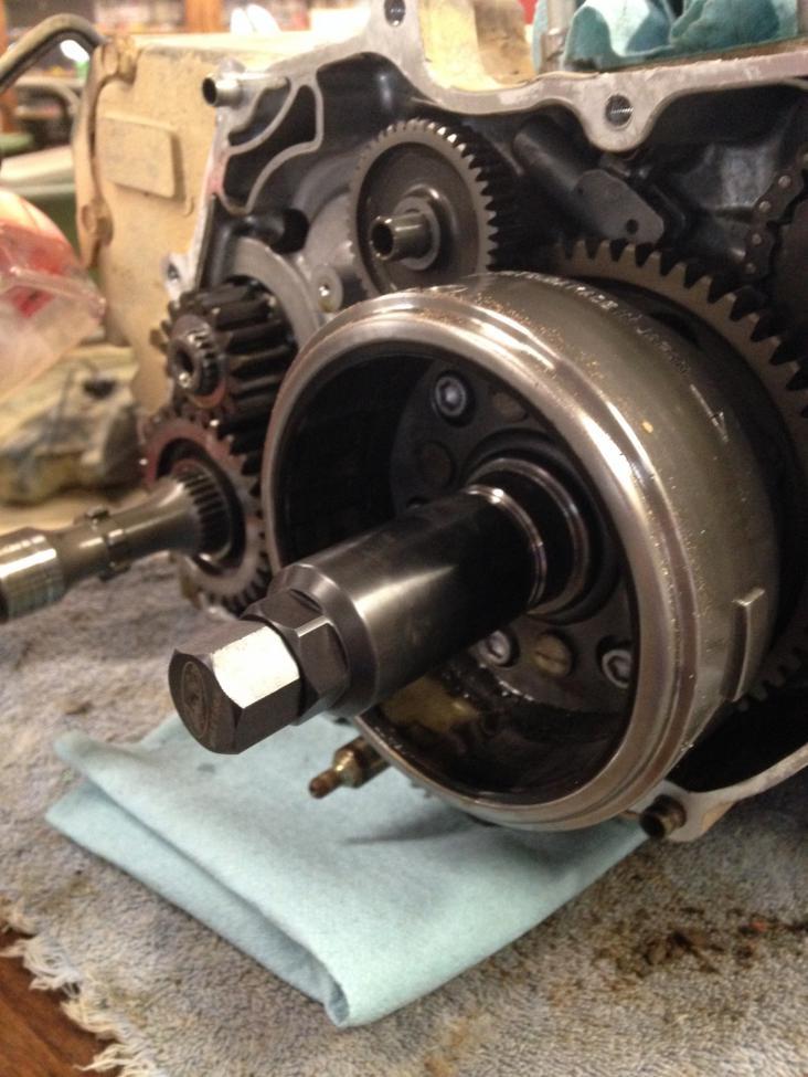 fly wheel removal | honda foreman forums  honda foreman forums