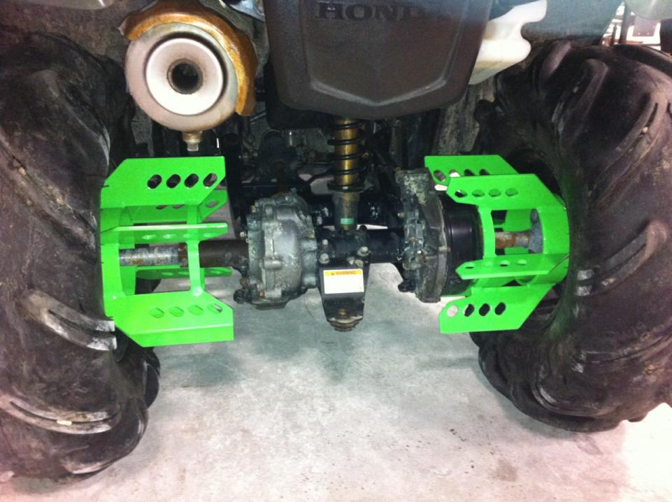 Axle Paddles Ordered Honda Foreman Forums Rubicon