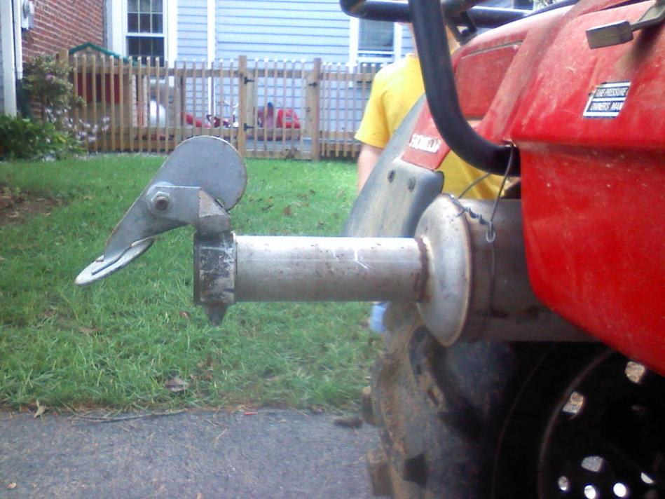 Redneck Muffler Mod Honda Foreman Forums Rubicon