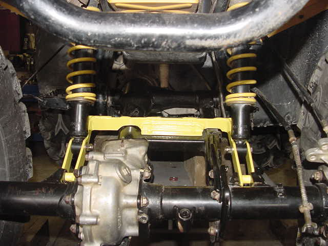 Extended Swing Arm - Honda Foreman Forums : Rubicon, Rincon
