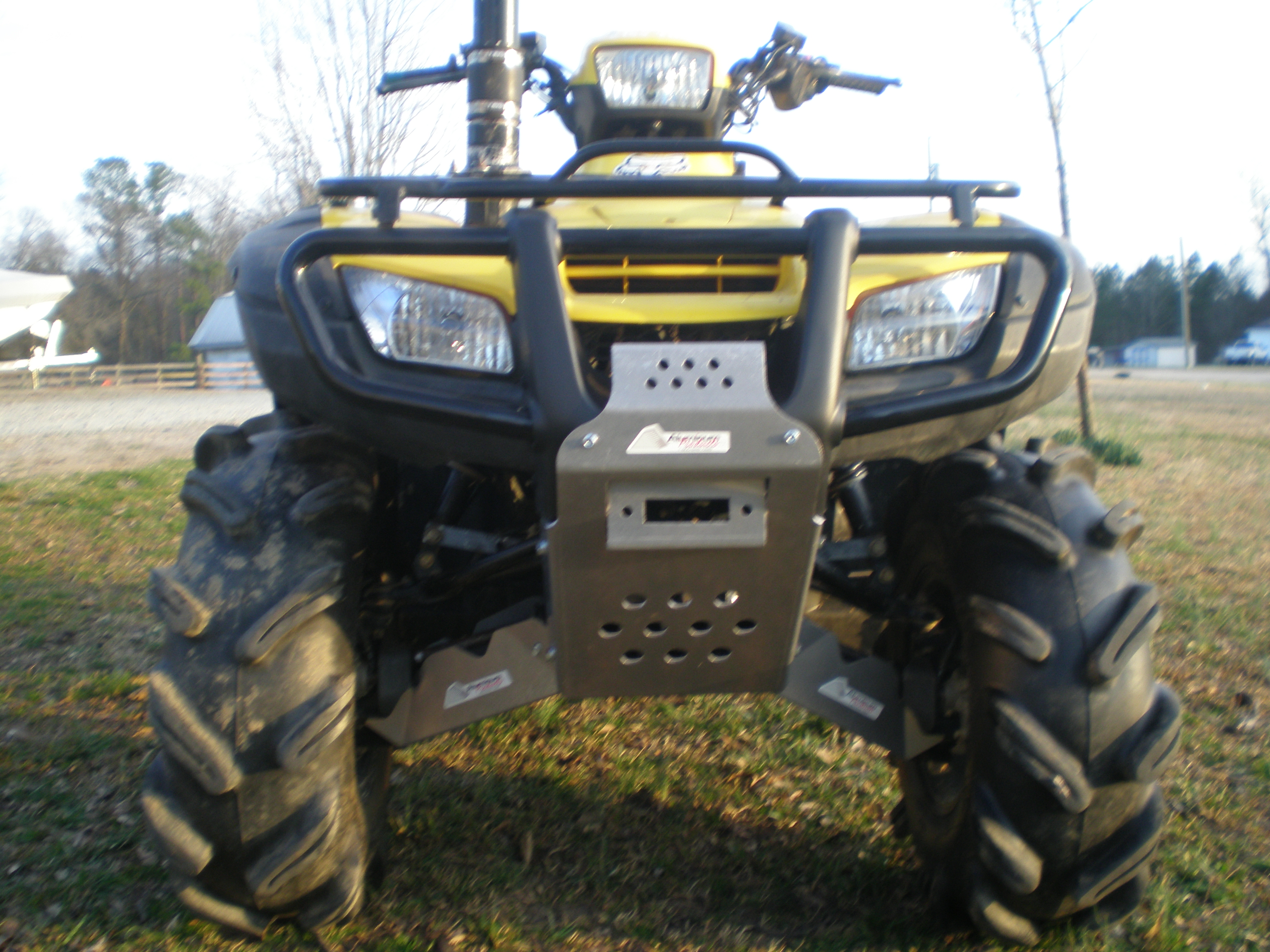 Honda Of Bend >> front axle and brush guards - Honda Foreman Forums : Rubicon, Rincon, Rancher and Recon Forum