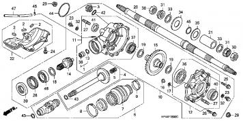 73839 Rancher Rear Bearing Replacement on honda rancher 420 wiring diagram