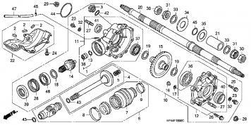 rancher rear bearing replacement honda foreman forums. Black Bedroom Furniture Sets. Home Design Ideas