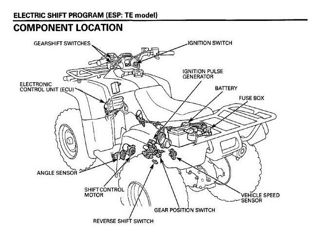 2004 honda foreman 450 wiring diagram wirdig diagram also 2000 honda foreman 450 wiring diagram on honda foreman