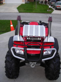 radiator reloction kit - Honda Foreman Forums : Rubicon, Rincon, Rancher and Recon Forum