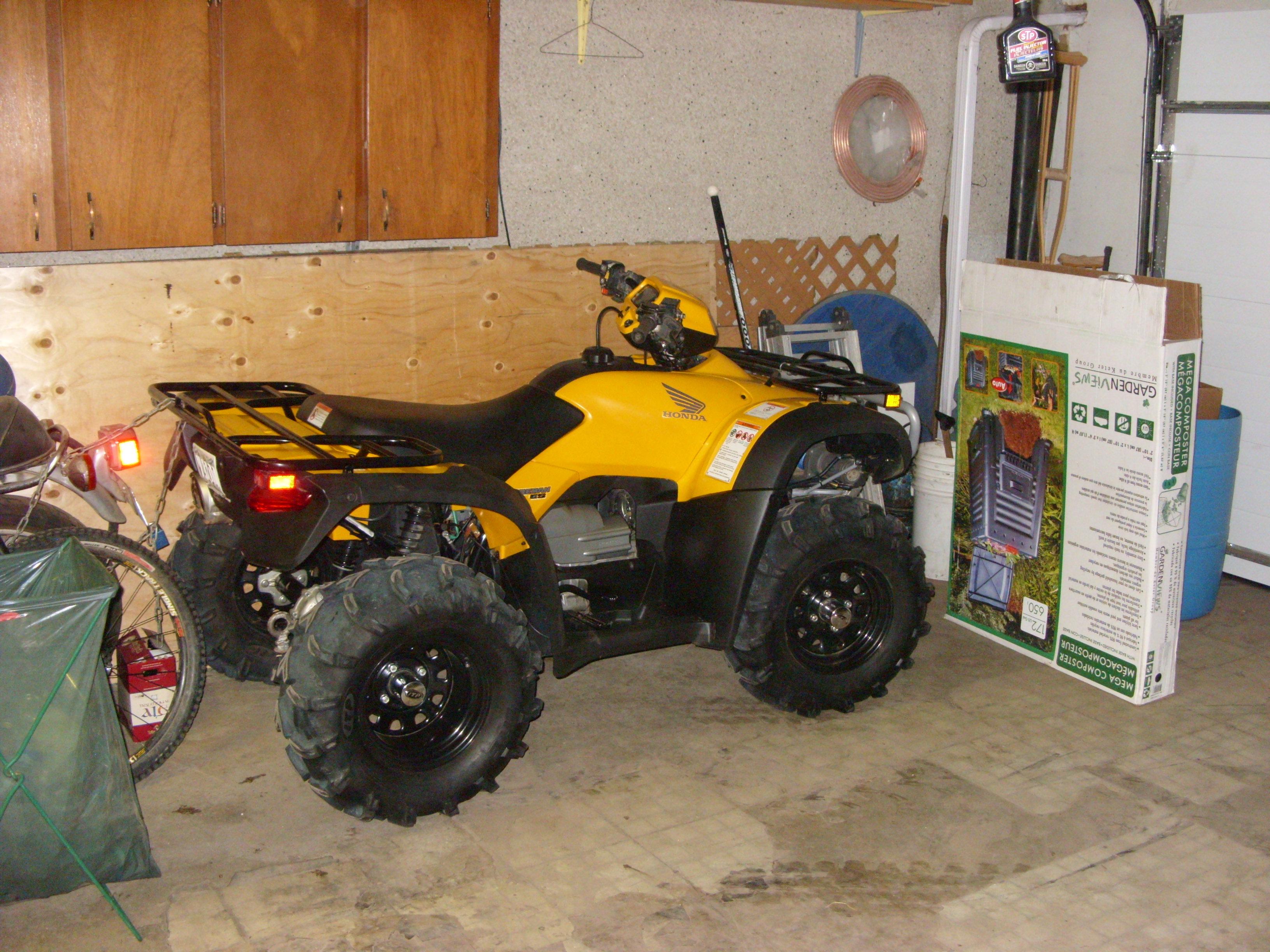 Detroit gearless locker for 2006 honda rubicon #6