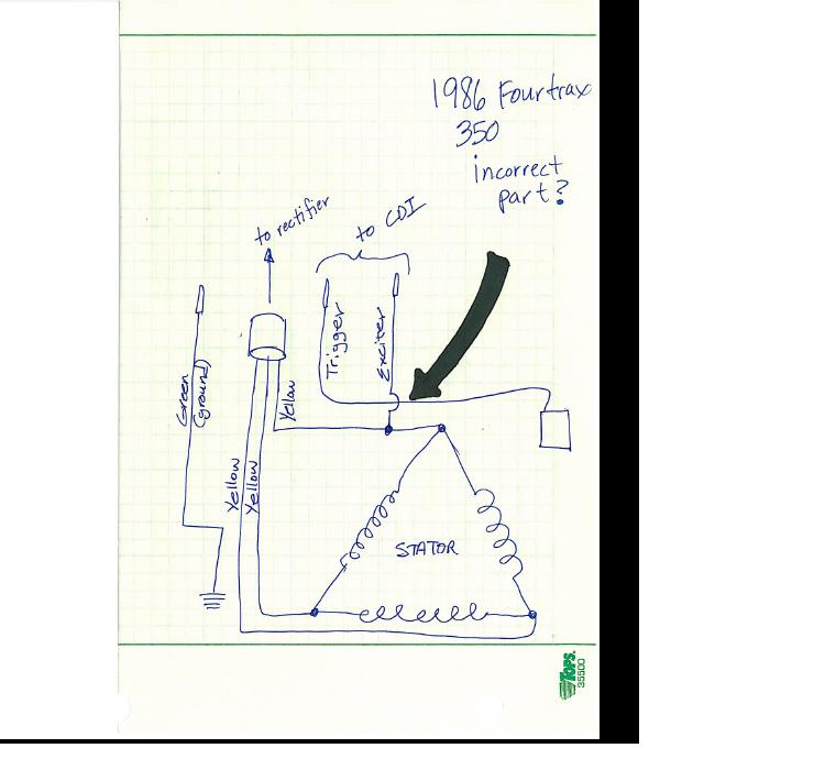 honda 350 fourtrax wiring diagram honda auto wiring diagram 1986 honda fourtrax 350 wiring 1986 home wiring diagrams on honda 350 fourtrax wiring diagram