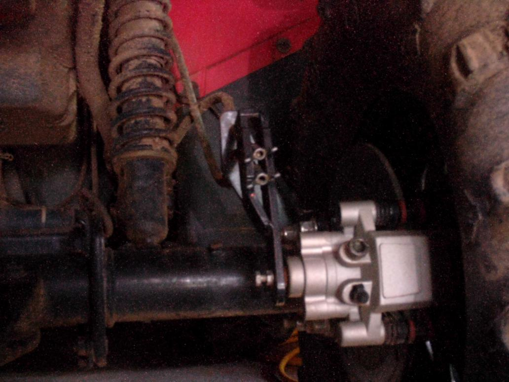 3K In Miles >> Super ATV Honda rear disk brake doesn't work! - Honda Foreman Forums : Rubicon, Rincon, Rancher ...