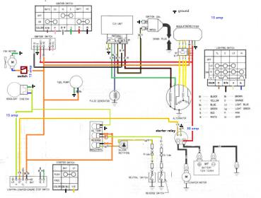 honda rancher ignition wiring diagram all wiring diagram Honda Foreman 450 Wiring Diagram